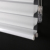 latest heat resistant  3 inches triple blinds for smart house