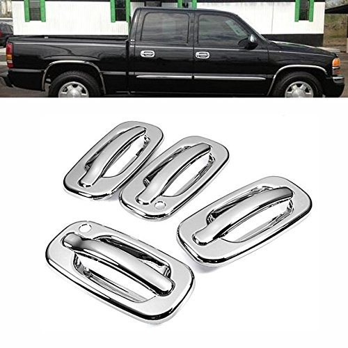 MaxMate Fits 07-13 GMC Yukon//Yukon XL//Cadillac Escalade//Chevy Suburban//Tahoe Chrome Tailgate Handle Cover 1PC