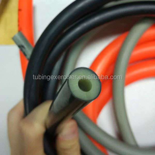Manufacturer Custom Gym Fitness 8mm, 10mm, 12mm Latex Rubber Resistance Tubing