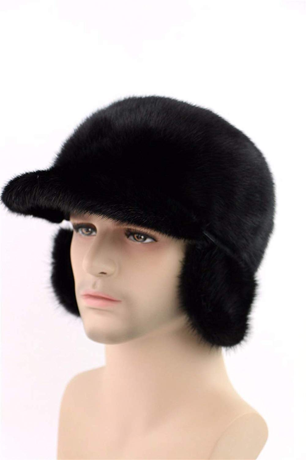 6fd93bc2d73a6 Get Quotations · Winter Trooper Hat Trapper Bomber Hat with Face Mask Warm  Hunting Hats for Men Women (
