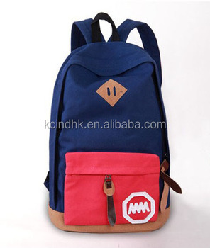 Fashion Colorful Sport Canvas Backpack