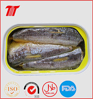 low price 125g Canned Sardine in oil fish with club can wholesaler wanted