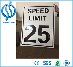Radar Speed Limit Sign Solar Powered Traffic Sign