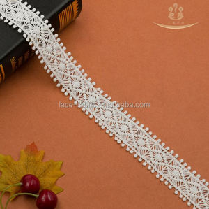 Bulk China Mark Dry Organza Voile African Swiss Polish Trim Organic White Embroidery Lace