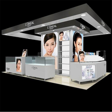 Mall Cosmetic Kiosk for Makeup Kiosk Display Showcase
