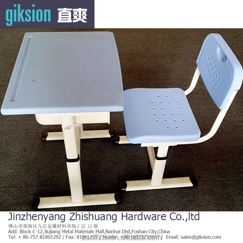 ZS025# Factory direct sale study tables and chairs, furniture for shcool
