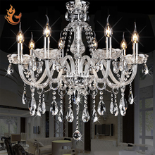 Hotel Crystal chandeliers lights zhongshan ceiling led light chandelier