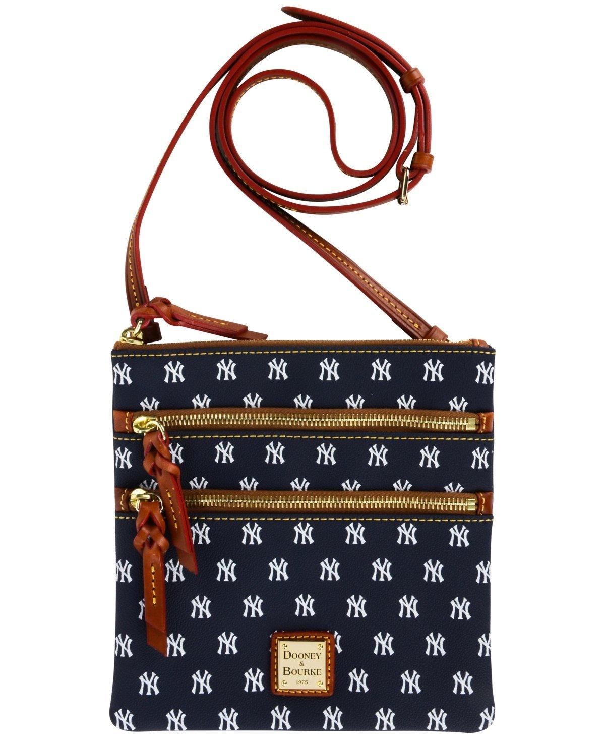 e6eff6ccfa02 Get Quotations · Dooney Bourke MLB Triple Zip Crossbody New York Yankees  Cross Body Handbags