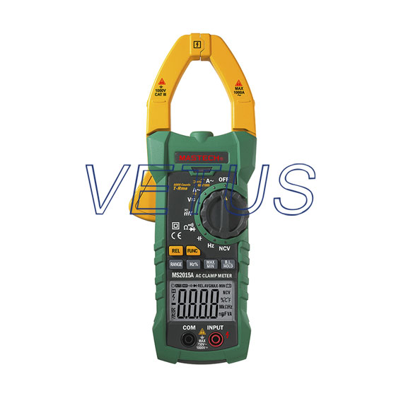 True RMS multifunction MASTECH MS2015A Digital AC Clamp Meters AC/DC Voltage Current Tester