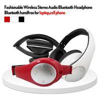 High quality Mini wireless earphones folder handfree bluetooth headphone for iphone ipad and other phone/table