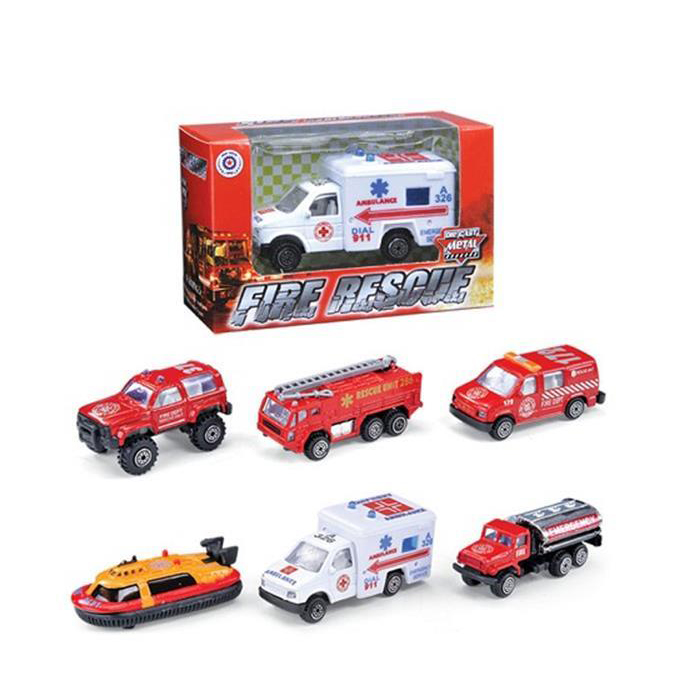 Hot selling slide fire truck and friction tow truck toy china wholesale