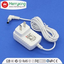 AU/EU/UK/US plug wall 17v 700ma ac dc adapter 17v 15v 12v 9v 5v power adapter
