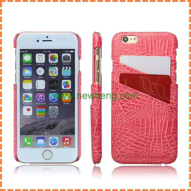 Mobile phone accessories,Wallet Leather Case For iPhone 6 plus