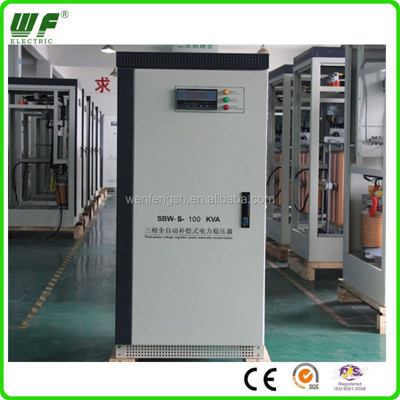3 phase 100 kva servo controlled voltage stabilizer