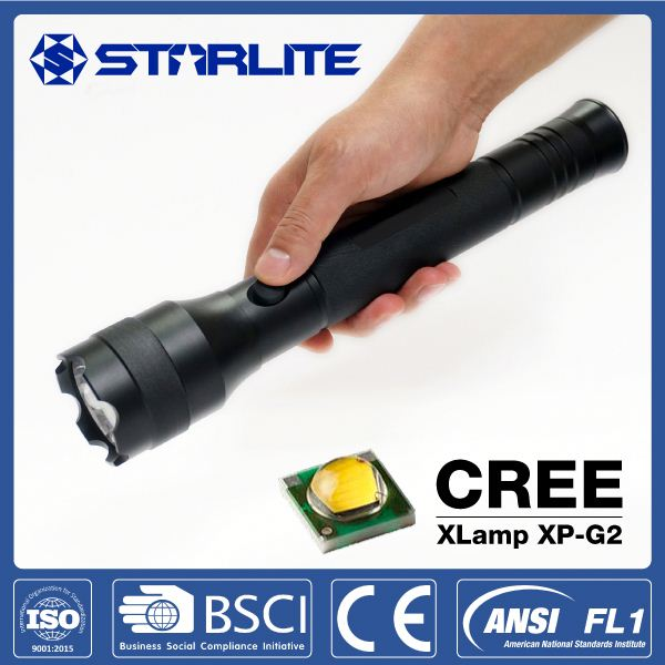 STARLITE IPX7 waterproof 3*D batteries IPX7 413M patrol flashlight
