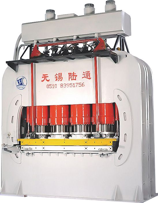 hot sale wood door hot press/parquet floor making machine