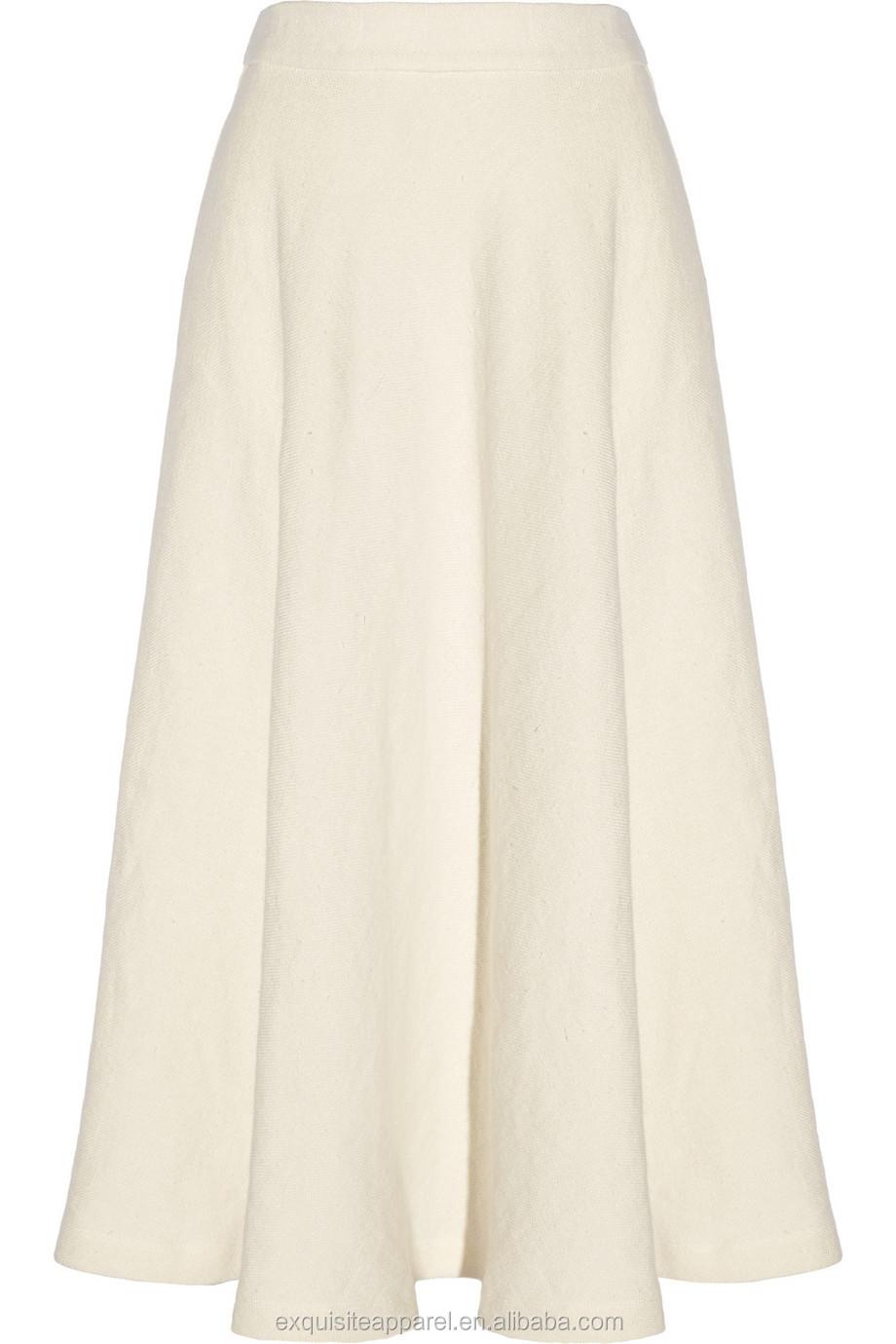 0be0cdf31dca29 Custom lange linnen rok effen witte katoenen rokken vrouwen cothing  guangzhou china fabrikant