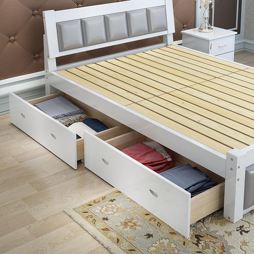 Venta al por mayor camas matrimonio con cajones-Compre online los ...