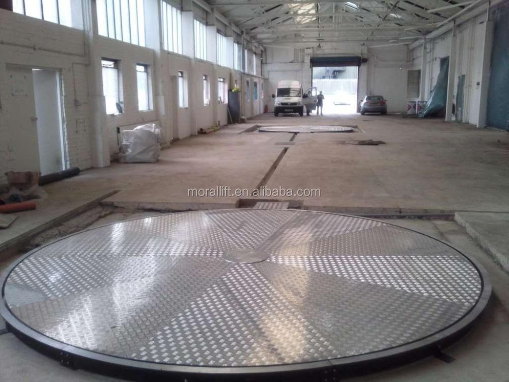 Portable car turntable rotating platform stage car buy for Large motorized rotating platform