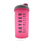 Eco friendly feature whey protein powder shaker bottle for gym