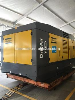 Atlas Copco Drillair: Wagon-mounted Two-stage,Oil-injected,Asymmetrical  Rotary Screw Compressors,25bar-35 Bar (365-510 Psig) - Buy Atlas Copco