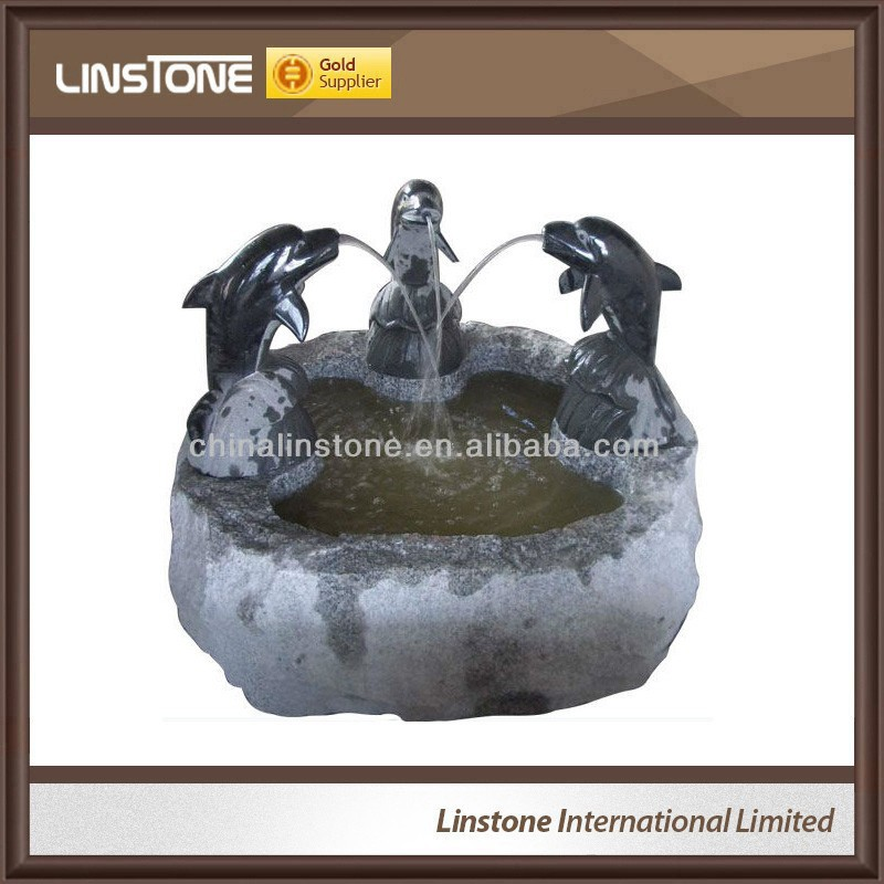 Factory customized waterfall fountain statue sculpture