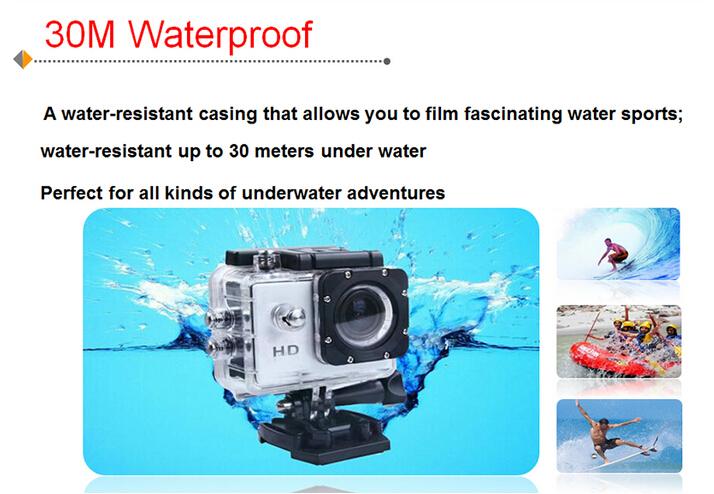 Many Accessories Waterproof Case + Helmet Seat Xiaomi Yi Action ...