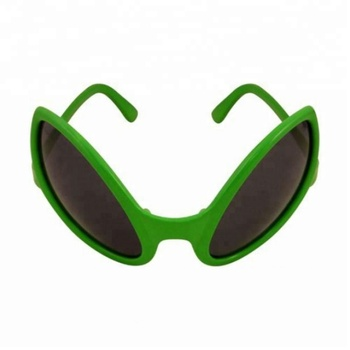 Alien Glasses Party Fancy Dress Accessory Bug Eyes Eye Sunglasses Shades Green Monster SA2045