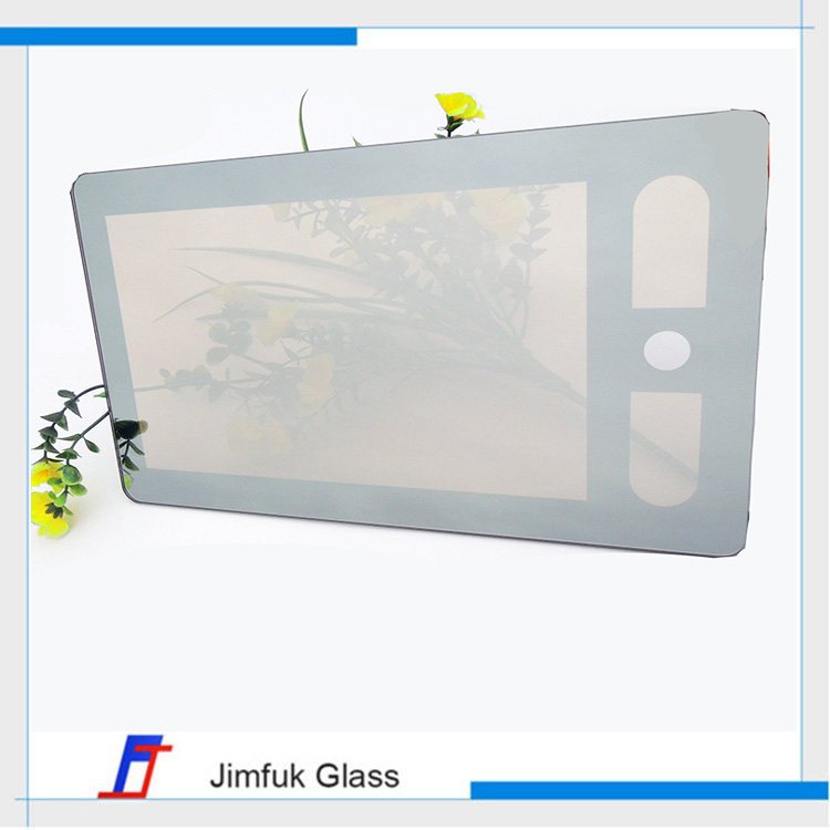 Higher quality transparent screen tv lcd tempered glass