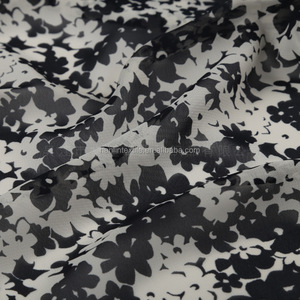A gradient chiffon scarves printed cloth fabric 100% polyester 150cm /chiffon for women dress in stock lot