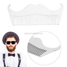 anti-static Men Beard Style Stainless Steel Comb