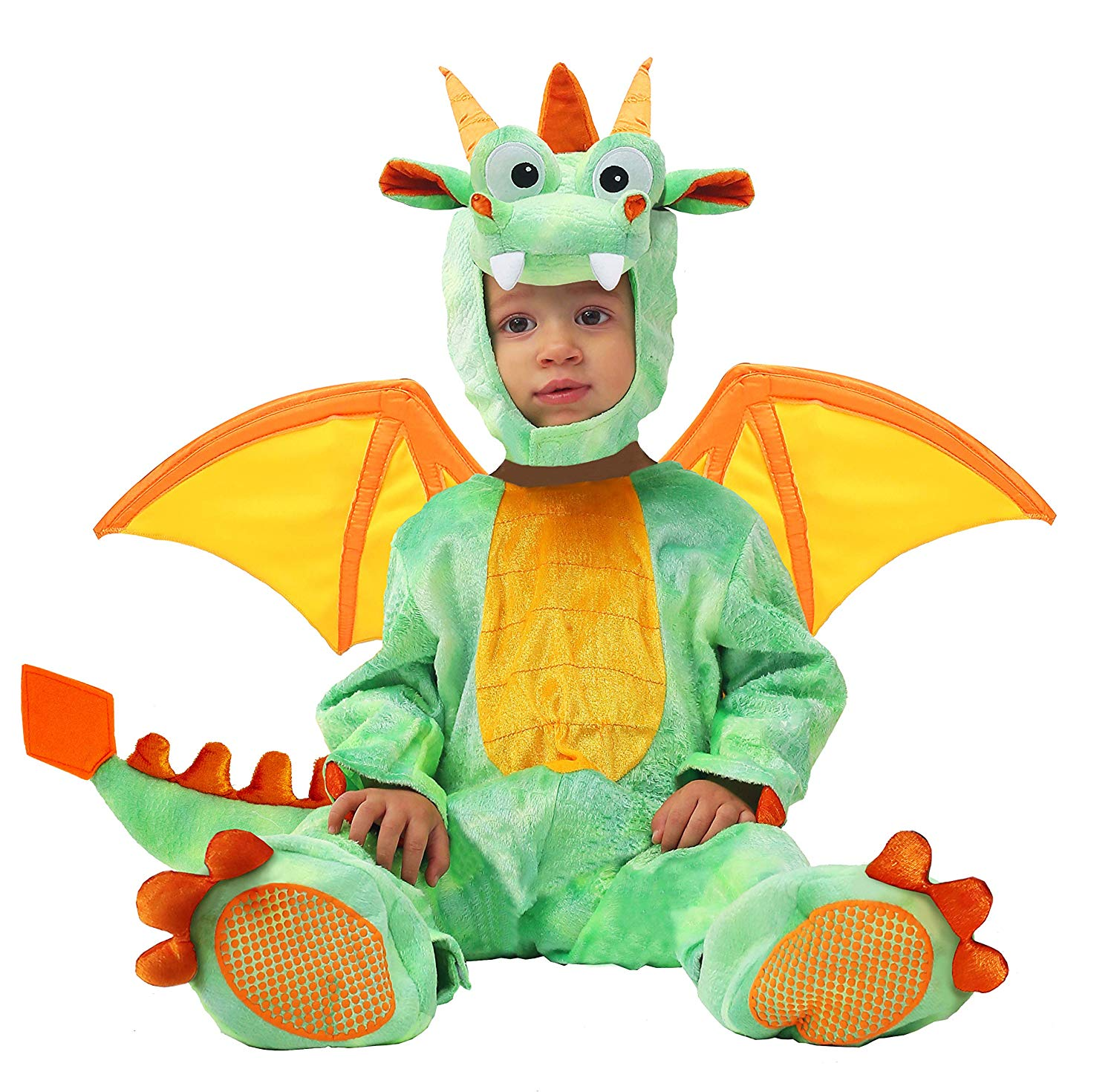 Spooktacular Creations Baby Dragon Costume Infant Deluxe Set with Toys for Kids Role Play