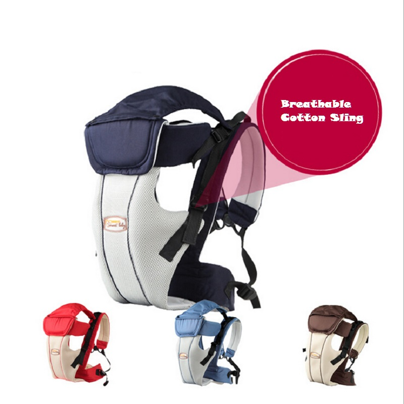 Updated 2 30 Months Breathable Multifunctional Front Facing Baby Carrier Infant Baby Sling Backpack Pouch Wrap