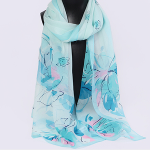 Trends Women 100% Pure Silk Scarf