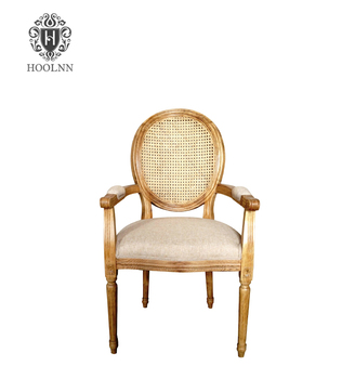 French Round Back Dining Arm Chair P2203   Buy Rattan Chair,Louis  Armchair,Rattan Dining Chair Product On Alibaba.com