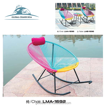 Garden Egg Chair Outdoor Furniture Acapulco Chair With Multi Color