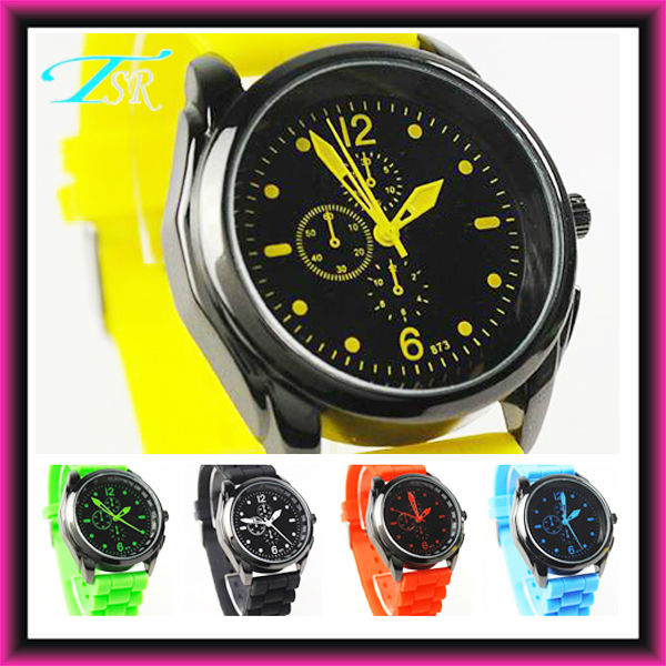 colorful silicone jelly watch with custom your logo Hot In USA New Brand Style shenzhen factory welcome small order