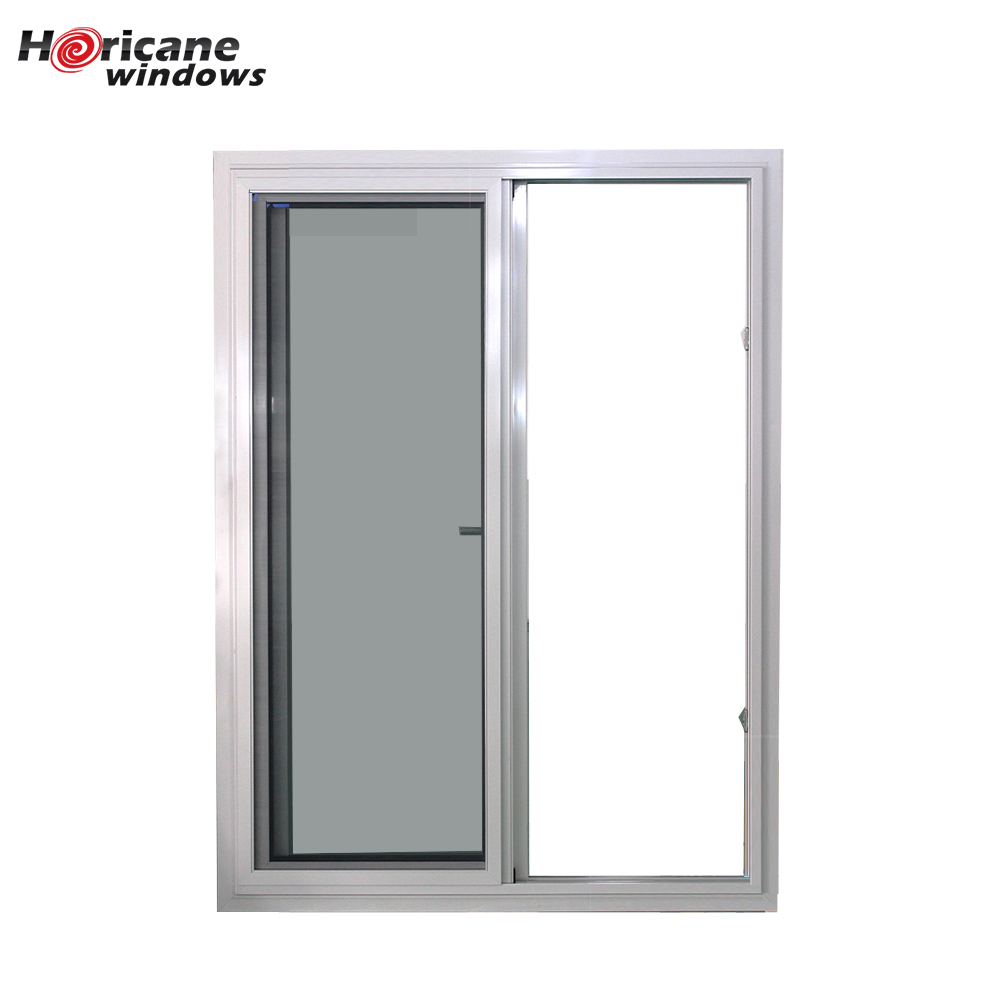 Factory price large exterior sound proof double aluminium profile sliding glass door