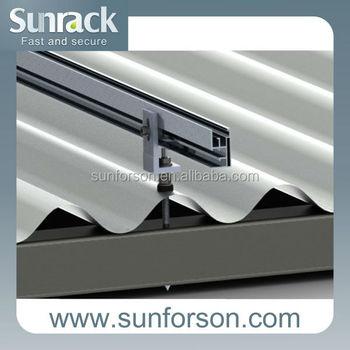 Corrugating Corrugated Metal Sheet Pitched Roof Pv