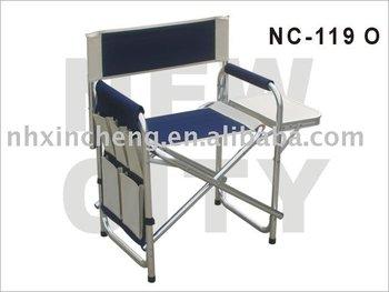 Vendita calda sedia da regista con tavolo sedia a sdraio pieghevole