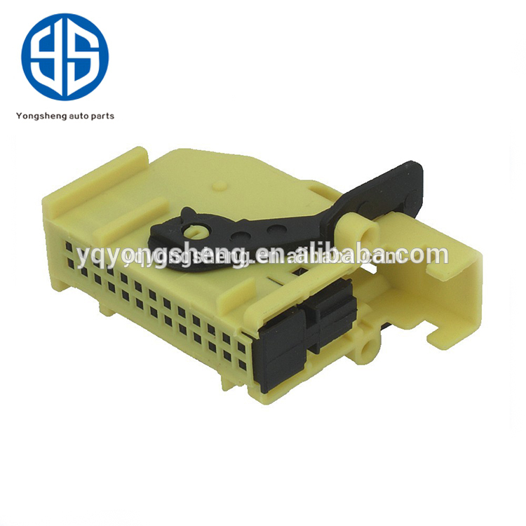 Tyco 185879-1 26 pin auto yellow automotive electrical connector