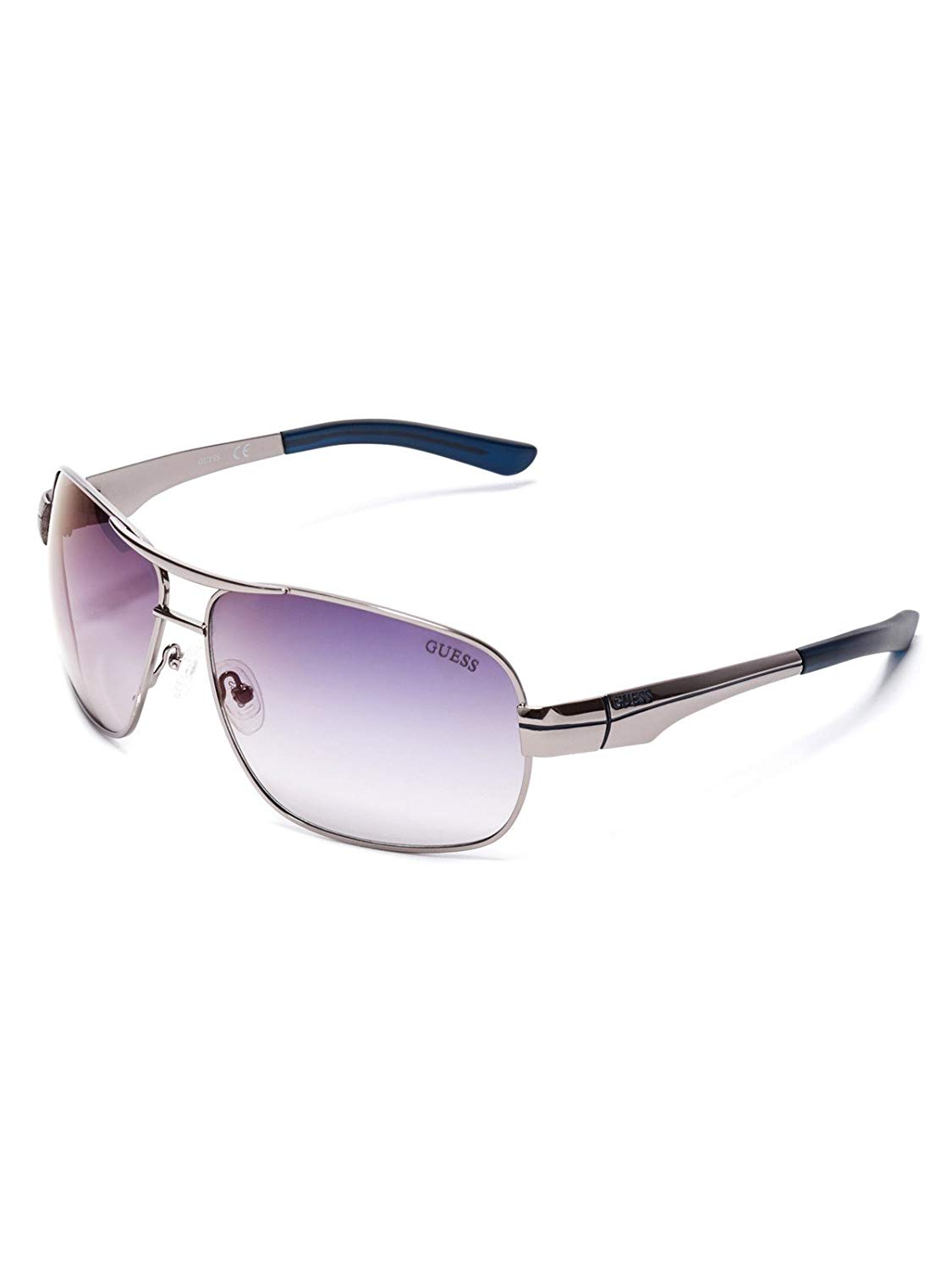 cb03399c11 Get Quotations · GUESS Factory Men s Metal Navigator Sunglasses