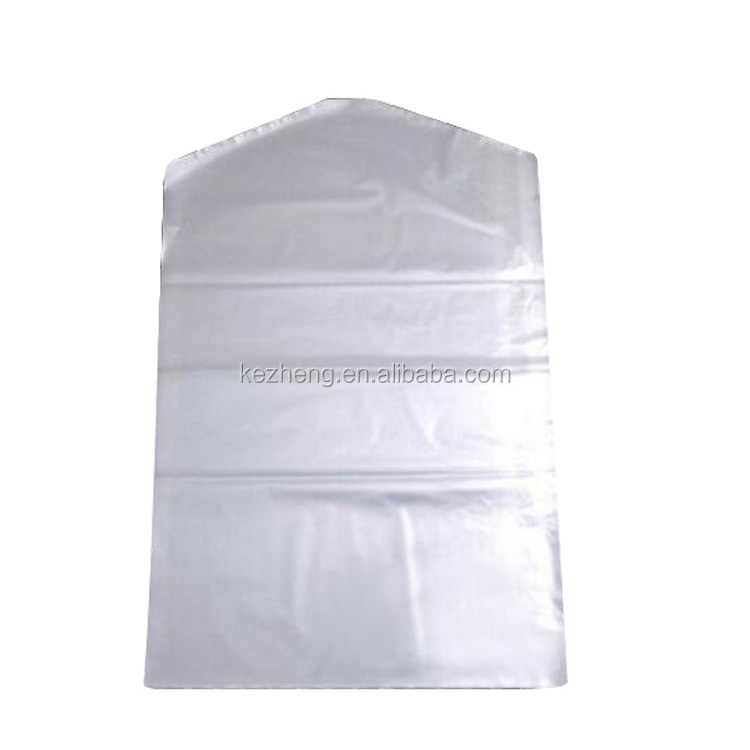 Wholesale Clear Plastic Dry cleaning poly garment bags for packing clothes storage on roll