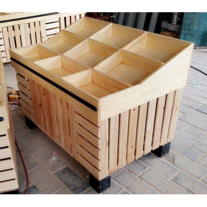 Super Markets Fruit Dispaly Fruit And Veg Display Wood