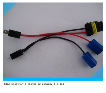 Male H1 H1 9006 Hid Light Cable Wire Harness For Car - Buy ...