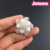 Wedding Flatback Crystal Pearl Rhinestone brooch
