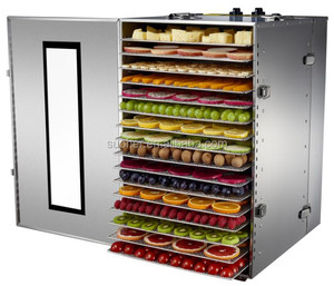 Electric Vegetable Drying Oven Dryer Machine 16 Trays
