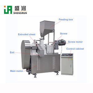 Crunchy Cheetos making extruder Machine Fully Automatic Kurkure Corn curl Chips processing line