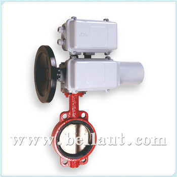 Honeywell motor operated control butterfly valve for for Motor operated butterfly valve