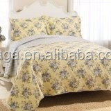 quilts and bedspreads,rag quilt,yellow quilt